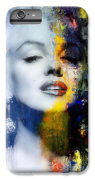 Marilyn Monroe iPhone 6 Plus Case - Marilyn by Mal Bray