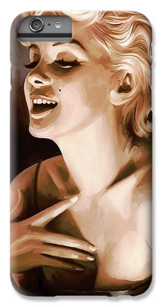 Marilyn Monroe Artwork 1 IPhone 6 Plus Case by Sheraz A