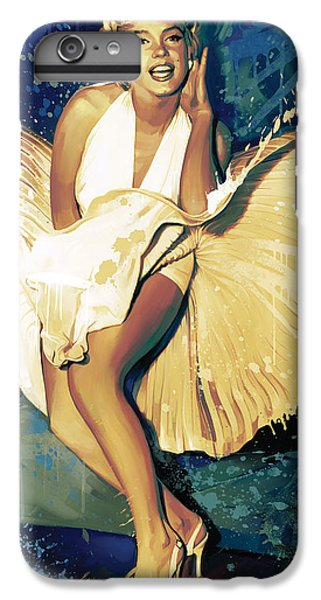 Marilyn Monroe Artwork 4 IPhone 6 Plus Case by Sheraz A