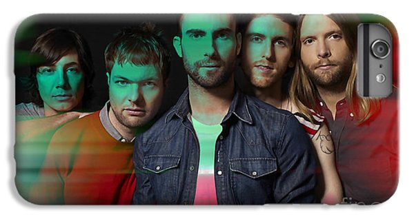 Maroon 5 Painting IPhone 6 Plus Case by Marvin Blaine