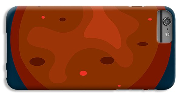 Science Fiction iPhone 6 Plus Case - Mars by Christy Beckwith