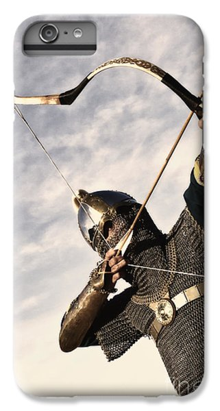 Medieval Archer IPhone 6 Plus Case by Holly Martin
