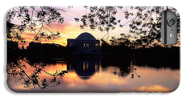 Jefferson Memorial iPhone 6 Plus Case - Memorial At The Waterfront, Jefferson by Panoramic Images