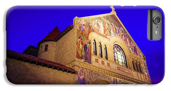 Memorial Church Stanford University IPhone 6 Plus Case by Scott McGuire