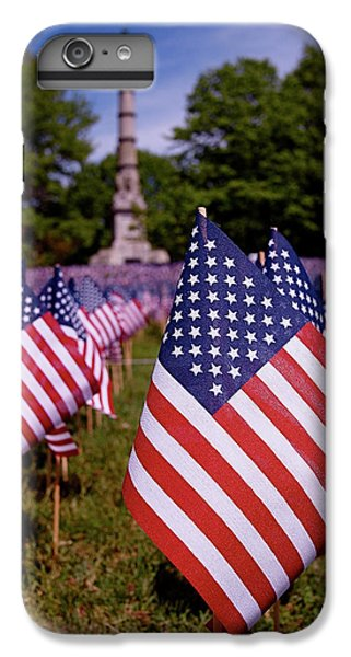 Memorial Day Flag Garden IPhone 6 Plus Case