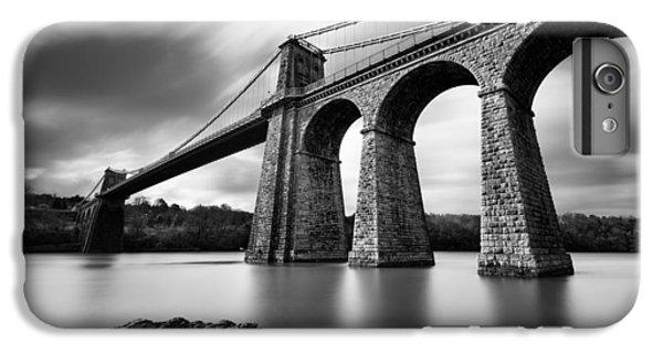Menai Suspension Bridge IPhone 6 Plus Case by Dave Bowman