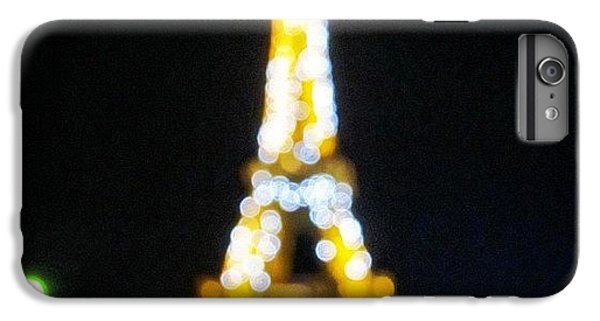 Light iPhone 6 Plus Case - #mgmarts #paris #france #europe #eiffel by Marianna Mills