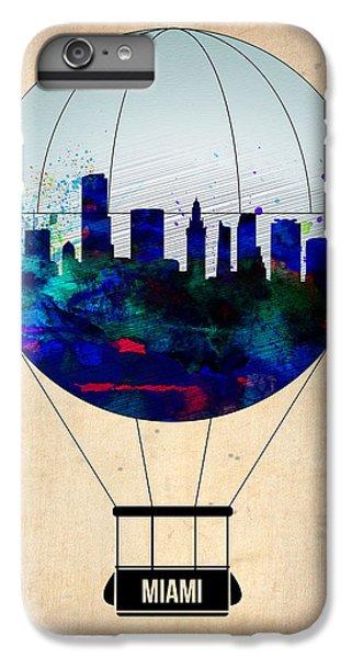 Miami iPhone 6 Plus Case - Miami Air Balloon by Naxart Studio
