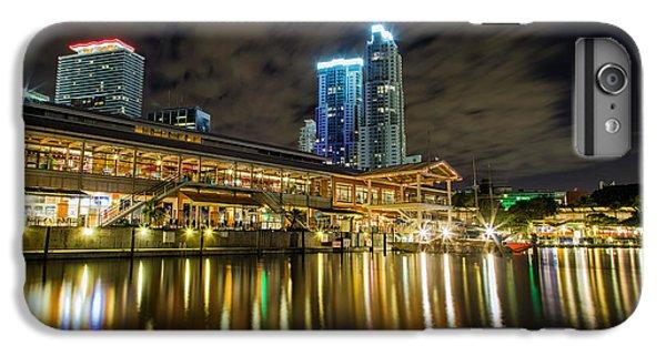 Miami Bayside At Night IPhone 6 Plus Case