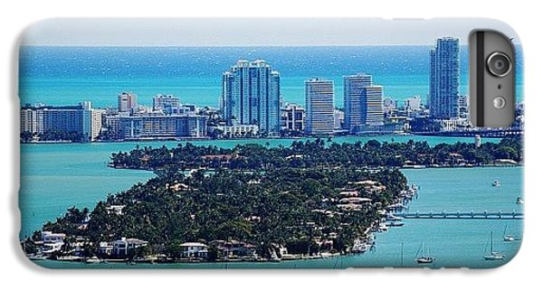 Iger iPhone 6 Plus Case - Miami Beach & Biscayne Bay by Joel Lopez