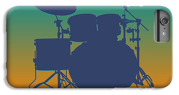 Miami Dolphins Drum Set IPhone 6 Plus Case by Joe Hamilton