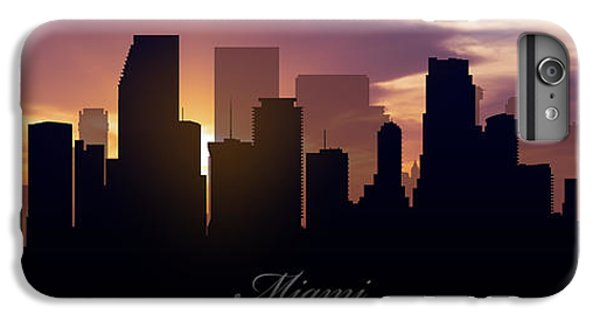 Miami Sunset IPhone 6 Plus Case by Aged Pixel