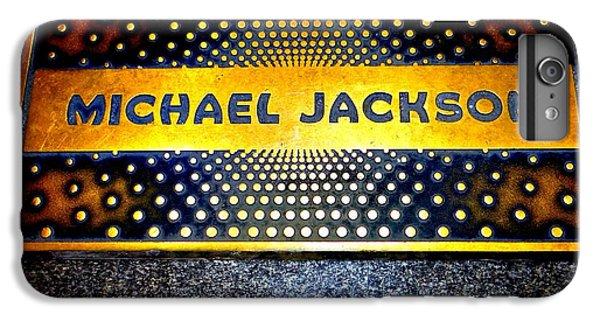 Michael Jackson Apollo Walk Of Fame IPhone 6 Plus Case by Ed Weidman