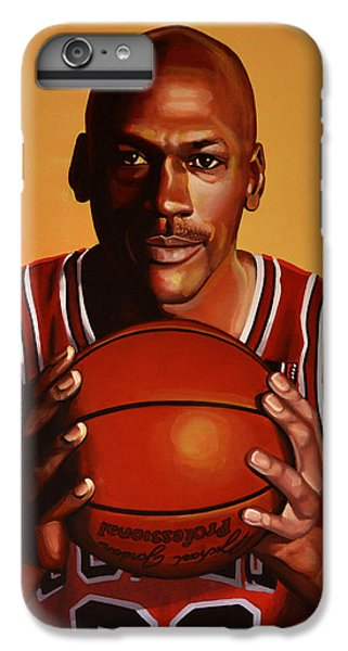 Michael Jordan 2 IPhone 6 Plus Case by Paul Meijering