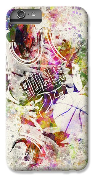 Michael Jordan IPhone 6 Plus Case by Aged Pixel