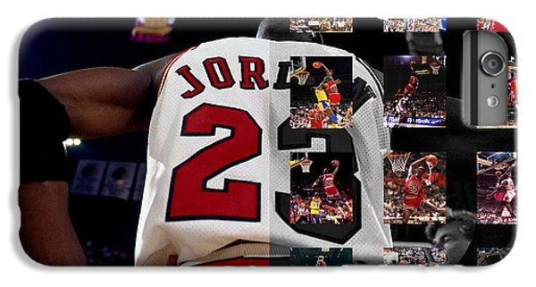 Michael Jordan IPhone 6 Plus Case by Joe Hamilton