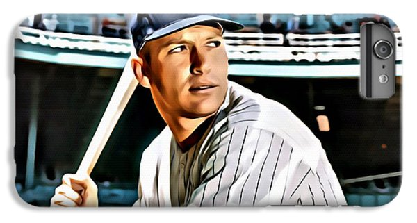 Mickey Mantle IPhone 6 Plus Case by Florian Rodarte