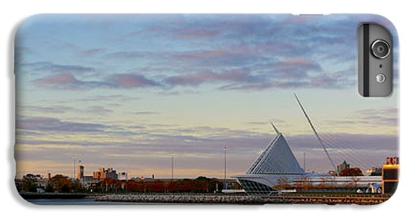 IPhone 6 Plus Case featuring the photograph Milwaukee At Sunrise  by Ricky L Jones