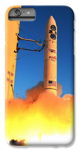 Minotaur Iv Rocket Launches Falconsat-5 IPhone 6 Plus Case by Science Source