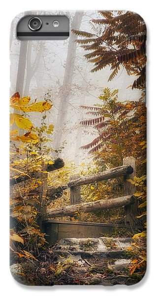 Nature Trail iPhone 6 Plus Case - Misty Footbridge by Scott Norris