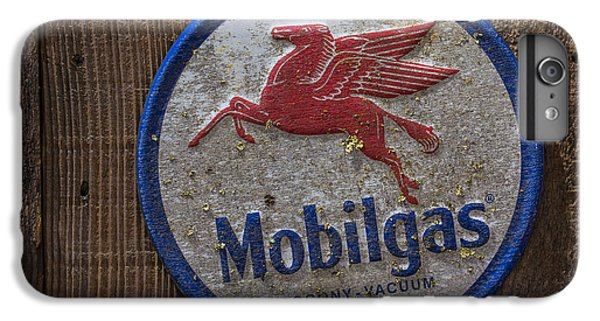 Pegasus iPhone 6 Plus Case - Mobil Gas Sign by Garry Gay