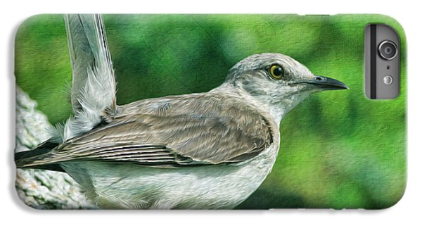 Mockingbird iPhone 6 Plus Case - Mockingbird Pose by Deborah Benoit