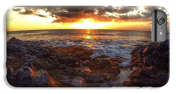 Follow iPhone 6 Plus Case - Molokai Sunset by Brian Governale