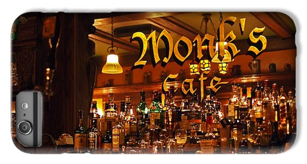 Monks Cafe IPhone 6 Plus Case by Rona Black