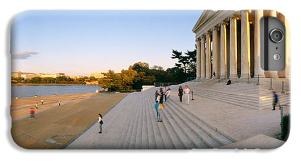 Jefferson Memorial iPhone 6 Plus Case - Monument At The Riverside, Jefferson by Panoramic Images
