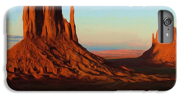 Landscape iPhone 6 Plus Case - Monument Valley 2 by Inspirowl Design