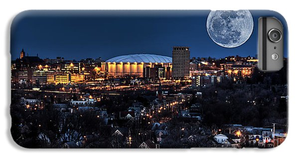 Moon Over The Carrier Dome IPhone 6 Plus Case by Everet Regal