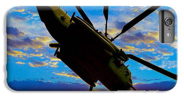 Helicopter iPhone 6 Plus Case - Morning Maneuvers  by Jon Neidert