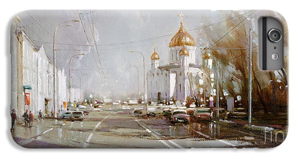 Moscow. Cathedral Of Christ The Savior IPhone 6 Plus Case by Ramil Gappasov