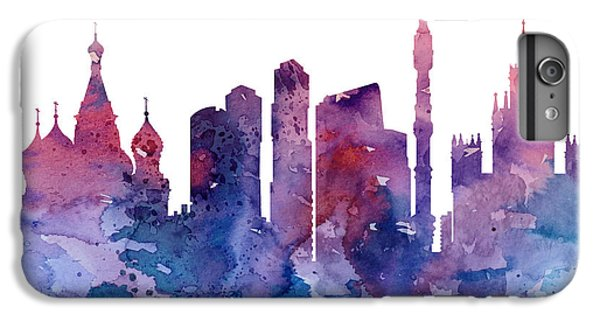 Moscow iPhone 6 Plus Case - Moscow by Watercolor Girl