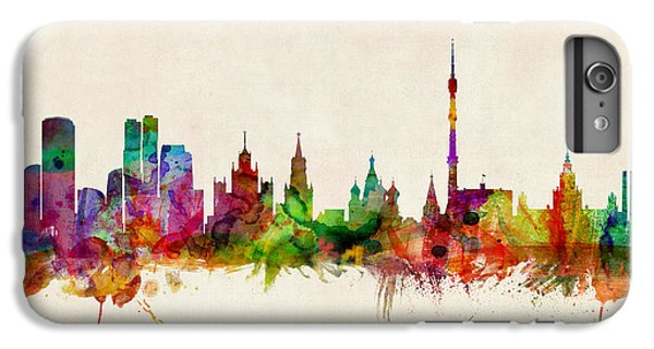 Moscow Skyline IPhone 6 Plus Case by Michael Tompsett