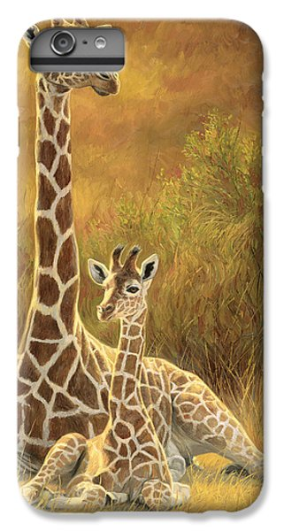 Wildlife iPhone 6 Plus Case - Mother And Son by Lucie Bilodeau