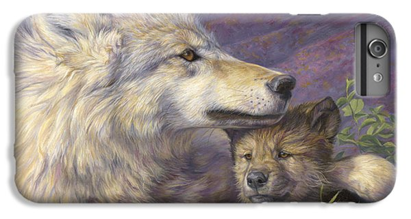 Wildlife iPhone 6 Plus Case - Mother's Love by Lucie Bilodeau