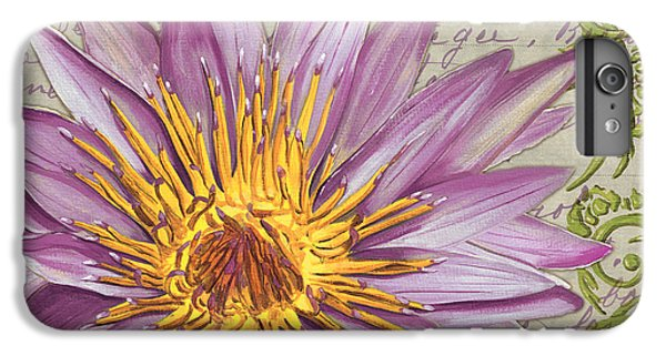 Moulin Floral 1 IPhone 6 Plus Case by Debbie DeWitt
