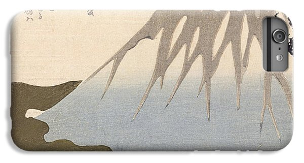 Mount Fuji Under The Snow IPhone 6 Plus Case by Toyota Hokkei
