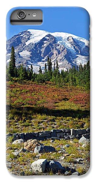 Mount Rainier IPhone 6 Plus Case by Anthony Baatz