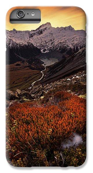 Mountain Sunset iPhone 6 Plus Case - Mount Sefton by Yan Zhang
