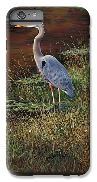 Mrs Blue Heron IPhone 6 Plus Case by Laurie Hein