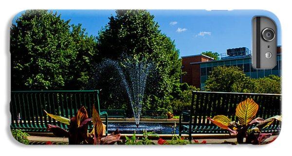 Msu Water Fountain IPhone 6 Plus Case by John McGraw