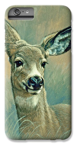 Deer iPhone 6 Plus Case - Muley Fawn At Six Months by Paul Krapf
