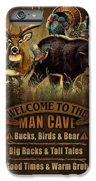 Pheasant iPhone 6 Plus Case - Multi Specie Man Cave by JQ Licensing