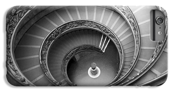 IPhone 6 Plus Case featuring the photograph Musei Vaticani Stairs by Nathan Rupert