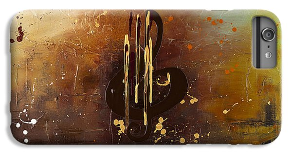 Trombone iPhone 6 Plus Case - Music All Around Us by Carmen Guedez