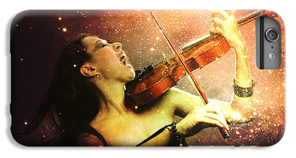Music Explodes In The Night IPhone 6 Plus Case by Linda Lees