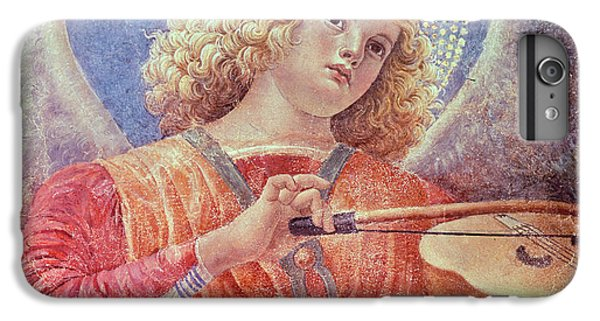 Music iPhone 6 Plus Case - Musical Angel With Violin by Melozzo da Forli