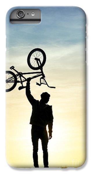 Bicycle iPhone 6 Plus Case - Bmx Biking by Tim Gainey